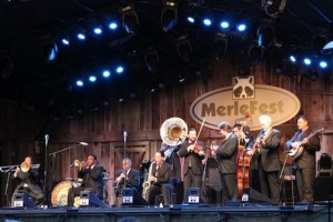 Del McCoury and The Preservation Hall Jazz Band, Merle Fest 2013